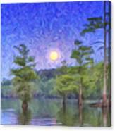 Cajun Moon Canvas Print