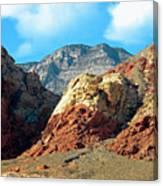 Calico Basin Nevada Canvas Print