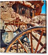 Calico Ghost Town Mine Canvas Print