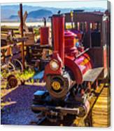 Calico Ghost Town Train Canvas Print