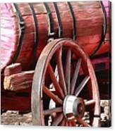 Calico Ghost Town Water Wagon Canvas Print
