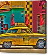 Caliente Cab Co Canvas Print