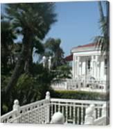 California Balcony Canvas Print