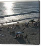 California Carlsbad Beach Almost Sunset Canvas Print
