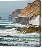 California Coasr Canvas Print