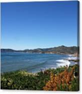 California Coast Line - Pismo Beach Canvas Print