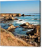 California Coast Rocky Cliffs Canvas Print