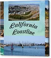 California Collage Canvas Print