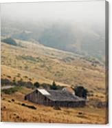 California Homestead - Rural Scene Canvas Print