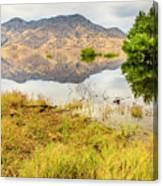 California Kaweah Lake Scene Canvas Print