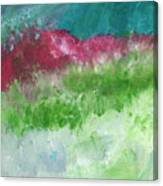 California Landscape- Expressionist Art By Linda Woods Canvas Print