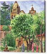 California Mission Carmel Basilica Canvas Print