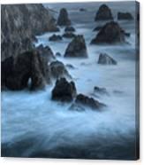 California Rocky Coastline Canvas Print