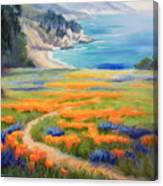 California Spring Big Sur Canvas Print