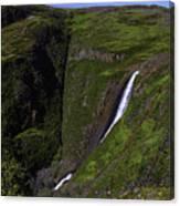 California Spring Falls Canvas Print