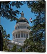 California State Capital Canvas Print