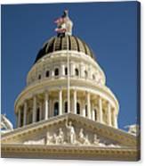 California State Capitol Cupola Canvas Print