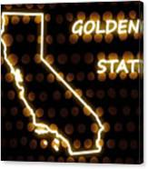 California - The Golden State Canvas Print