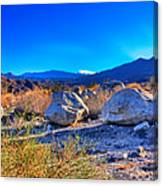 California Wilderness Panorama Canvas Print