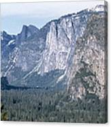 California: Yosemite Valley Canvas Print