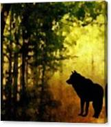 Call Of The Wolf Canvas Print