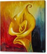Calla Lilly Part B Canvas Print