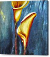Calla Lilly Part C Canvas Print