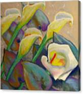 Calla Lily Design Canvas Print