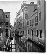Calle A Venezia Canvas Print