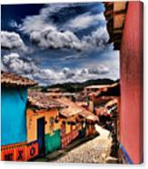 Calle De Colores Canvas Print