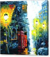 Calling Home Canvas Print