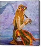 Calling The Wolf Spirit Canvas Print