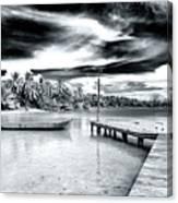 Calm At Boca Del Drago Panama Canvas Print