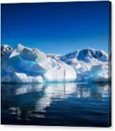 Calm Ice Canvas Print