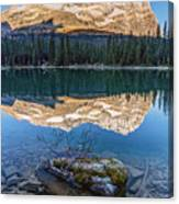 Calm O'hara Lake And Reflection At Sunrise Canvas Print