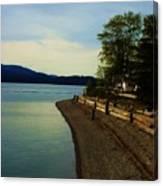 Calm Shores Canvas Print