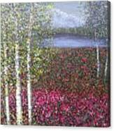 Calm  Yet Quaking Canvas Print