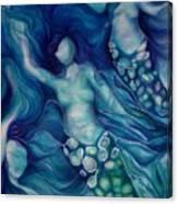 Calming Current 2 Canvas Print