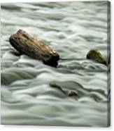Calming Rapids  Canvas Print