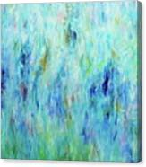 Calming Turquoise Canvas Print