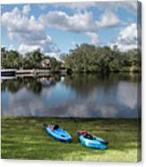 Caloosahatchee Kayaking Canvas Print