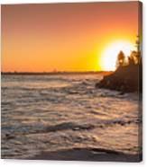 Caloundra Beach Sunset Canvas Print
