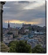 Calton Hill - Edinburgh Canvas Print