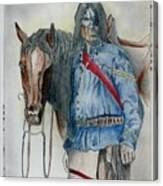 Calvary Scout Canvas Print