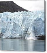 Calving Glacier Canvas Print