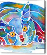 Calypso Cat Canvas Print