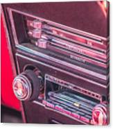 Camaro Controls Canvas Print
