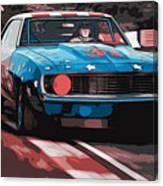 Camaro Z28 Transam 1969 Canvas Print