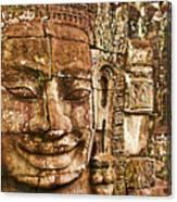 Cambodia Faces  Canvas Print