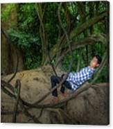 Cambodian Jungle Swing Canvas Print